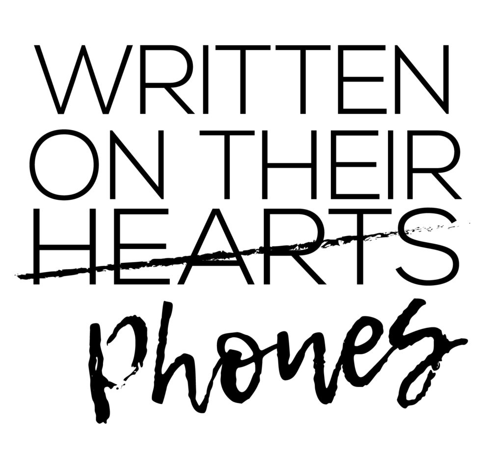 Written on their Phones